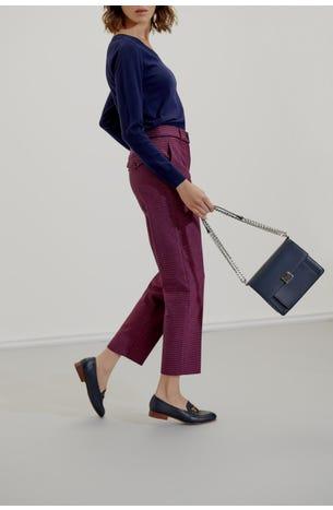 Pantalon Textura Bicolor