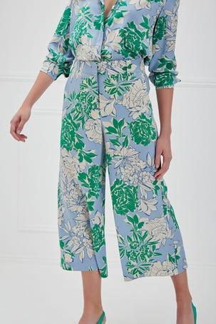 Pantalon Maxi Flores