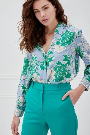 Pantalon Verde Recto