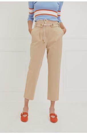 Pantalón Pinzas Banda Cordón