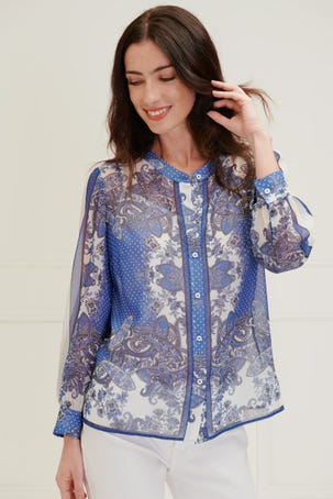 Blusa Estampado Paisleys