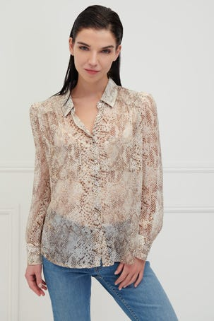 Blusa Camisera Animal Print