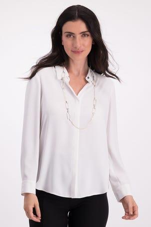 Camisa Blanca Relajada