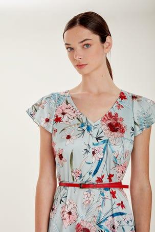 Vestido Flores Botanicas