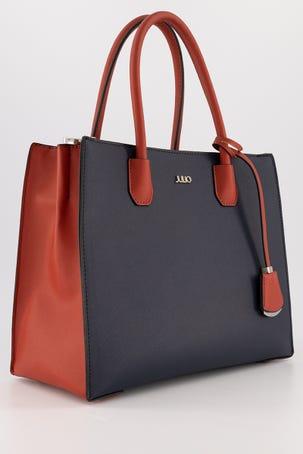 Bolsa Azul Con Rojo