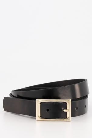 Cinturon Negro Brillante