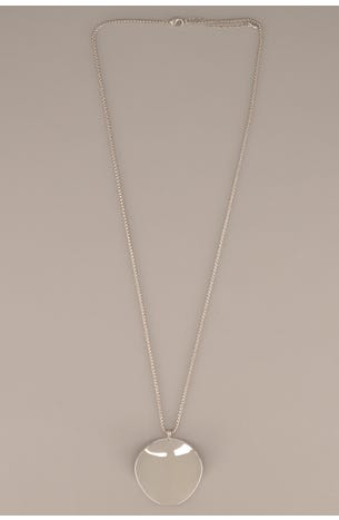 Collar Circulo Plata