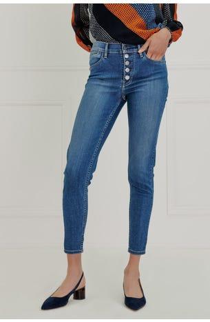 Jeans Multiples Botones