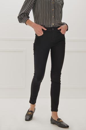Jeans Max Skinny Negros