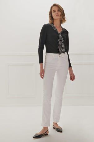 Jeans Max Skinny Blancos