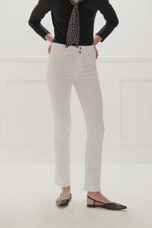 Jeans Skinny Cintura Media