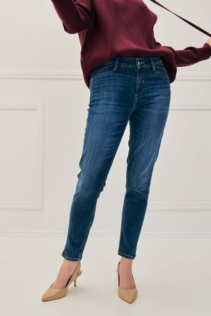 Jeans Skinny Cropped