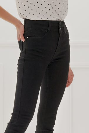 Jeans Negros Acampanados