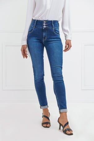 Jeans De Tres Botones
