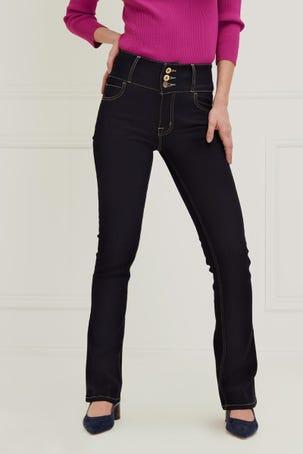 Jeans Acampanados Oscuros