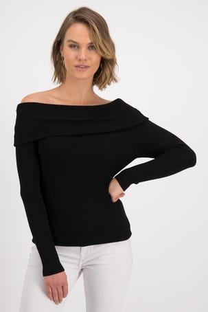Knitwear Escote Bardot