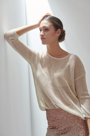 Suéter Tejido Rústico