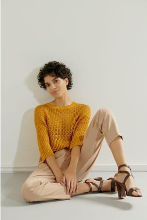 Sueter Tejido Crochet