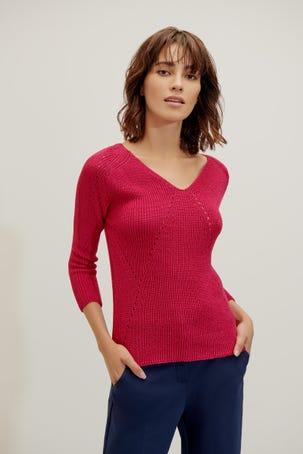 Suéter Lineas Caladas
