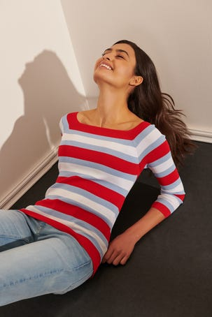 Suéter Rayas Multicolor