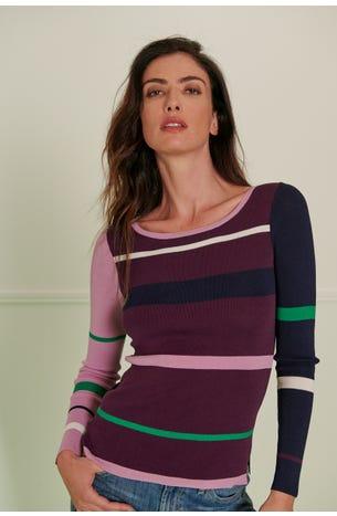 Suéter Bloques Multicolor