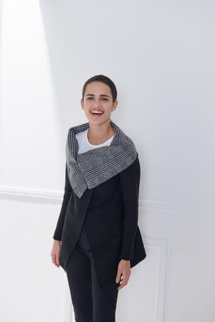 Suéter Capa Pata De Gallo