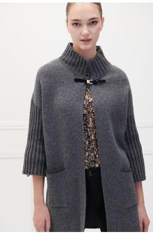 Suéter Con Lana Largo