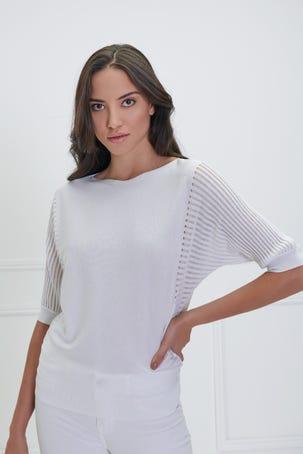 Suéter Calado Costados