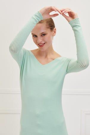 Suéter Mangas Caladas