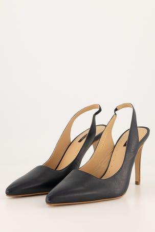 Zapatos Destalonado Azul