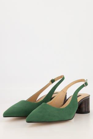 Zapato Tacón Forrado Destalonado