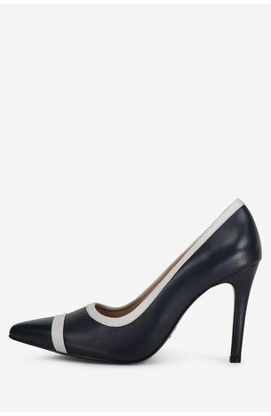 Zapatos Azul Con Blanco