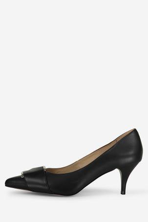 Zapatos Negros Con Hebilla