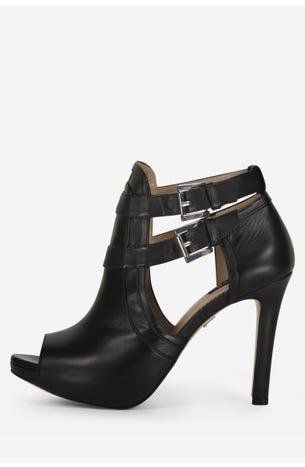 Zapatos Negros Con Hebillas