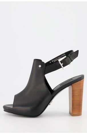 Zapato Negro Destalonado