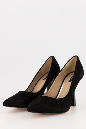 Zapatos Negros De Ante